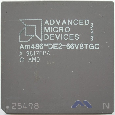 AMD AM486DE2-66 V8GTC F